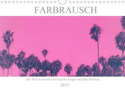 Farbrausch – die Welt in Pastell (Wandkalender 2019 DIN A4 quer) von Hoppe und Benjamin Petersen,  Franziska