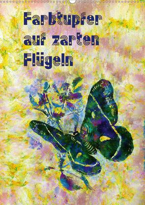 Farbtupfer auf zarten Flügeln (Wandkalender 2021 DIN A2 hoch) von Bleckmann,  Mathias