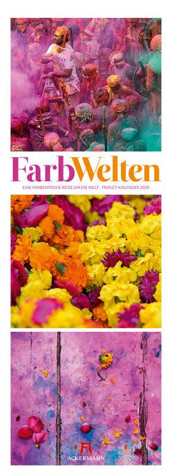 FarbWelten – Weltreise Triplet-Kalender 2020
