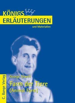 Farm der Tiere – Animal Farm von George Orwell. von Orwell,  George, Poppe,  Reiner