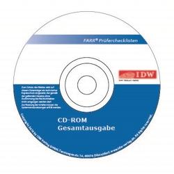 Farr, Prüferchecklisten 2020, CD-ROM, Abonnement von Farr,  Wolf-Michael