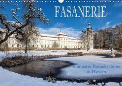 Fasanerie – schönstes Barockschloss Hessens (Wandkalender 2018 DIN A3 quer) von Pfleger,  Hans