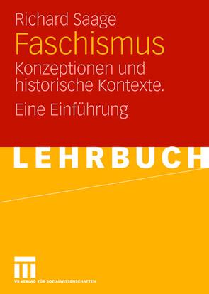 Faschismus von Saage,  Richard