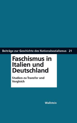 Faschismus in Italien und Deutschland von Nolzen,  Armin, Reichardt,  Sven