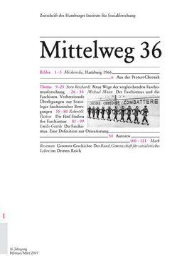 Faschismustheorien von Gentile,  Emilio, Kraushaar,  Wolfgang, Mann,  Michael, Paxton,  Robert O, Reichardt,  Sven, Roseman,  Mark