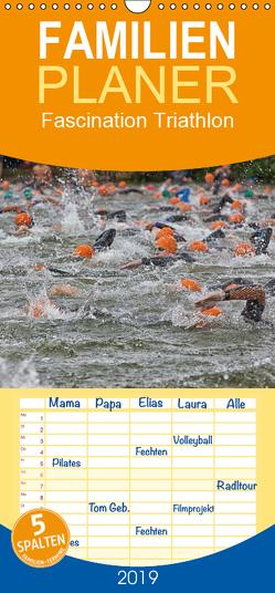 Fascination Triathlon – Familienplaner hoch (Wandkalender 2019 , 21 cm x 45 cm, hoch) von Will,  Hans
