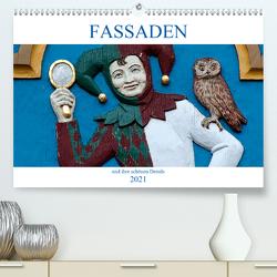 Fassaden und ihre schönen Details (Premium, hochwertiger DIN A2 Wandkalender 2021, Kunstdruck in Hochglanz) von happyroger