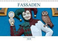 Fassaden und ihre schönen Details (Wandkalender 2018 DIN A4 quer) von happyroger,  k.A.