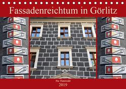 Fassadenreichtum in Görlitz (Tischkalender 2019 DIN A5 quer) von Thauwald,  Pia