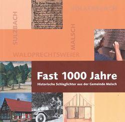 Fast 1000 Jahre von Rehm,  Clemens, Werthwein,  Donald, Werthwein,  Sally