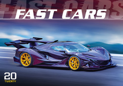 Fast Cars 2020 – Der Sportwagenkalender – Bildkalender quer (49 x 34) – Auto-Kalender – Technikkalender – Wandkalender von ALPHA EDITION