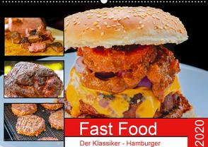 Fast Food Der Klassiker – Hamburger (Wandkalender 2020 DIN A2 quer) von Sommer Fotografie,  Sven