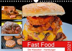 Fast Food Der Klassiker – Hamburger (Wandkalender 2021 DIN A4 quer) von Sommer Fotografie,  Sven