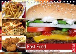 Fast Food. Leckeres Gecklecker für Junkfood-Genießer (Tischkalender 2018 DIN A5 quer) von Hurley,  Rose