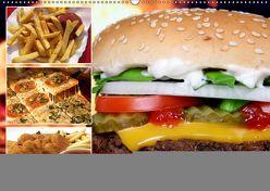 Fast Food. Leckeres Gecklecker für Junkfood-Genießer (Wandkalender 2019 DIN A2 quer) von Hurley,  Rose