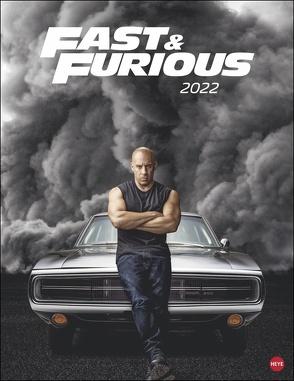 Fast & Furious Posterkalender 2022 von Heye