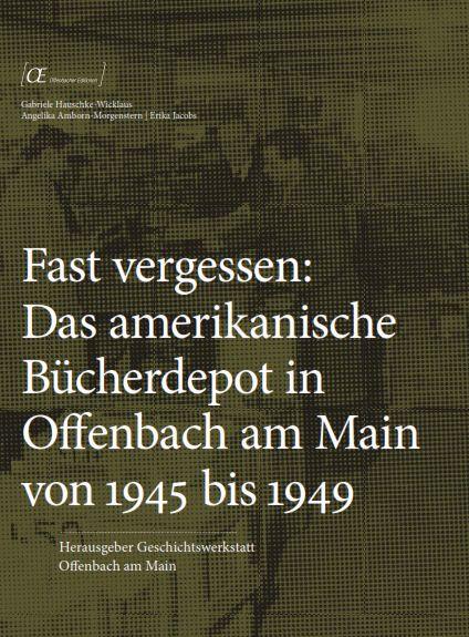 Fast Vergessen Das Amerikanische Bücherdepot In Offenbach Am Main Vo