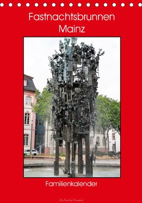 Fastnachtsbrunnen Mainz – Familienkalender (Tischkalender 2020 DIN A5 hoch) von DieReiseEule