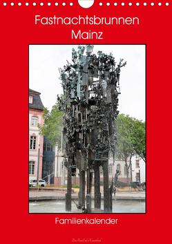 Fastnachtsbrunnen Mainz – Familienkalender (Wandkalender 2020 DIN A4 hoch) von DieReiseEule