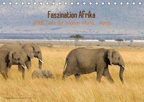 Faszination Afrika – wilde Tiere der Masai Mara – Kenia (Tischkalender 2018 DIN A5 quer) von Patzel,  Ralph