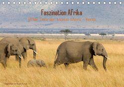Faszination Afrika – wilde Tiere der Masai Mara – Kenia (Tischkalender 2019 DIN A5 quer) von Patzel,  Ralph
