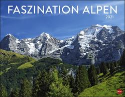 Faszination Alpen Kalender 2021 von Heye