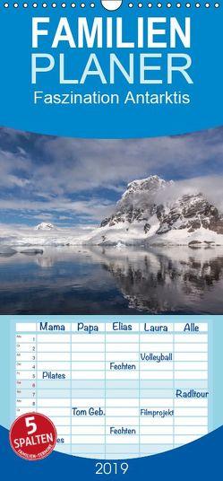 Faszination Antarktis – Familienplaner hoch (Wandkalender 2019 , 21 cm x 45 cm, hoch) von Altmaier,  Michael