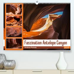 Faszination Antelope Canyon (Premium, hochwertiger DIN A2 Wandkalender 2020, Kunstdruck in Hochglanz) von Potratz,  Andrea