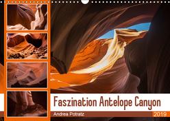Faszination Antelope Canyon (Wandkalender 2019 DIN A3 quer) von Potratz,  Andrea