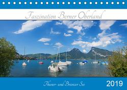 Faszination Berner Oberland 2019 – Thuner- und Brienzersee (Tischkalender 2019 DIN A5 quer) von SusaZoom