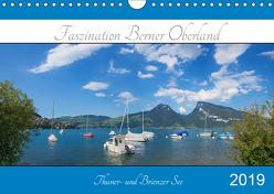 Faszination Berner Oberland 2019 – Thuner- und Brienzersee (Wandkalender 2019 DIN A4 quer) von SusaZoom