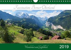 Faszination Berner Oberland 2019 – Wanderlust und Gipfelblick (Wandkalender 2019 DIN A4 quer) von SusaZoom