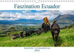 Faszination Ecuador (Wandkalender 2019 DIN A4 quer) von Kohler,  Daniela