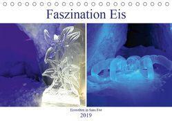 Faszination Eis. Eiswelten in Saas Fee (Tischkalender 2019 DIN A5 quer) von Michel,  Susan
