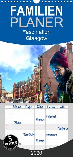 Faszination Glasgow – Familienplaner hoch (Wandkalender 2020 , 21 cm x 45 cm, hoch) von Much,  Holger