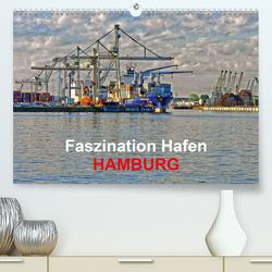 Faszination Hafen – Hamburg (Premium, hochwertiger DIN A2 Wandkalender 2021, Kunstdruck in Hochglanz) von URSfoto