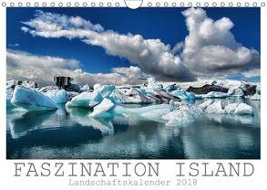 Faszination Island – Landschaftskalender 2018 (Wandkalender 2018 DIN A4 quer) von Vonten,  Dirk