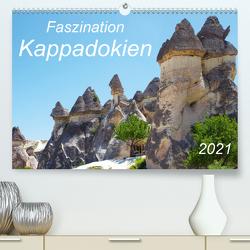 Faszination Kappadokien (Premium, hochwertiger DIN A2 Wandkalender 2021, Kunstdruck in Hochglanz) von r.gue.