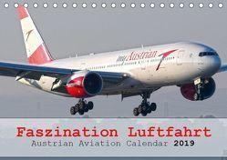Faszination Luftfahrt – Austrian Aviation Calendar 2019 (Tischkalender 2019 DIN A5 quer) von Jilli,  Chris