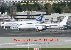 Faszination Luftfahrt – Boeing Kalender 2019 (Tischkalender 2019 DIN A5 quer) von Jilli,  Chris