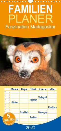 Faszination Madagaskar – Familienplaner hoch (Wandkalender 2020 , 21 cm x 45 cm, hoch) von Raab,  Karsten-Thilo