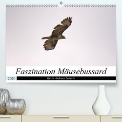 Faszination Mäusebussard (Premium, hochwertiger DIN A2 Wandkalender 2020, Kunstdruck in Hochglanz) von Andreas Lederle,  Kevin