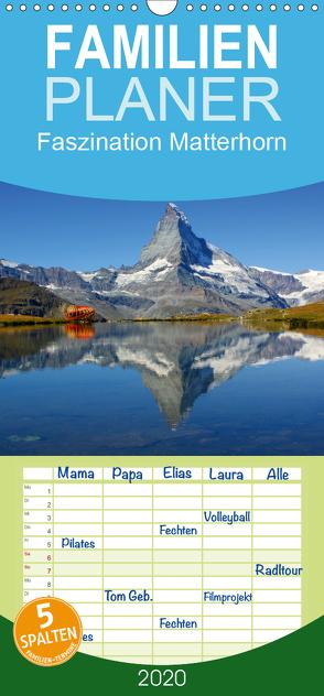 Faszination Matterhorn – Familienplaner hoch (Wandkalender 2020 , 21 cm x 45 cm, hoch) von Michel,  Susan
