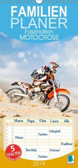 Faszination Motocross – Familienplaner hoch (Wandkalender 2019 , 21 cm x 45 cm, hoch) von CALVENDO