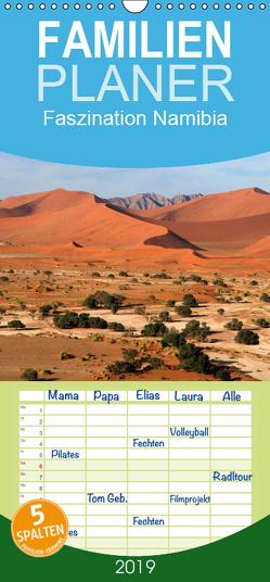 Faszination Namibia – Familienplaner hoch (Wandkalender 2019 , 21 cm x 45 cm, hoch) von Scholz,  Frauke