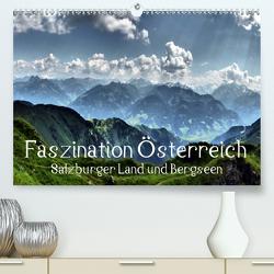Faszination Österreich – Salzburger Land und Bergseen (Premium, hochwertiger DIN A2 Wandkalender 2020, Kunstdruck in Hochglanz) von Art-Motiva