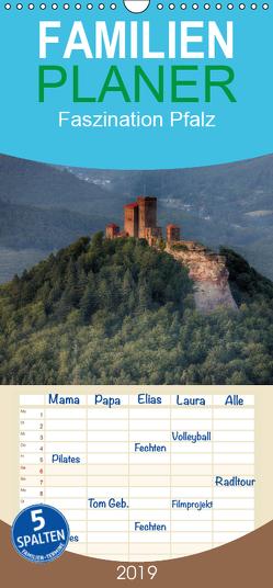 Faszination Pfalz – Familienplaner hoch (Wandkalender 2019 , 21 cm x 45 cm, hoch) von Oliver Schwenn,  Dr.