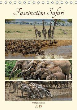 Faszination Safari. Wildlife in Kenia (Tischkalender 2019 DIN A5 hoch) von Michel / CH,  Susan