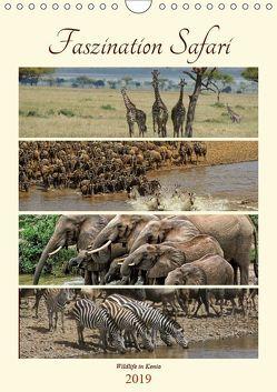 Faszination Safari. Wildlife in Kenia (Wandkalender 2019 DIN A4 hoch) von Michel / CH,  Susan