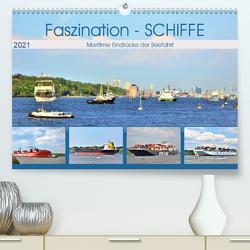 Faszination – SCHIFFE (Premium, hochwertiger DIN A2 Wandkalender 2021, Kunstdruck in Hochglanz) von Klünder,  Günther